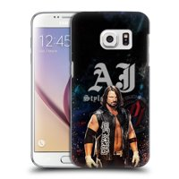 OFFICIAL WWE 2017 AJ STYLES HARD BACK CASE FOR SAMSUNG PHONES 1