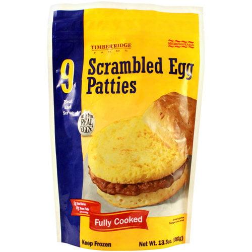 TimberRidge Farms Scrambled Egg Patties, 13.5 oz