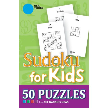 USA TODAY Sudoku for Kids : 50 Puzzles