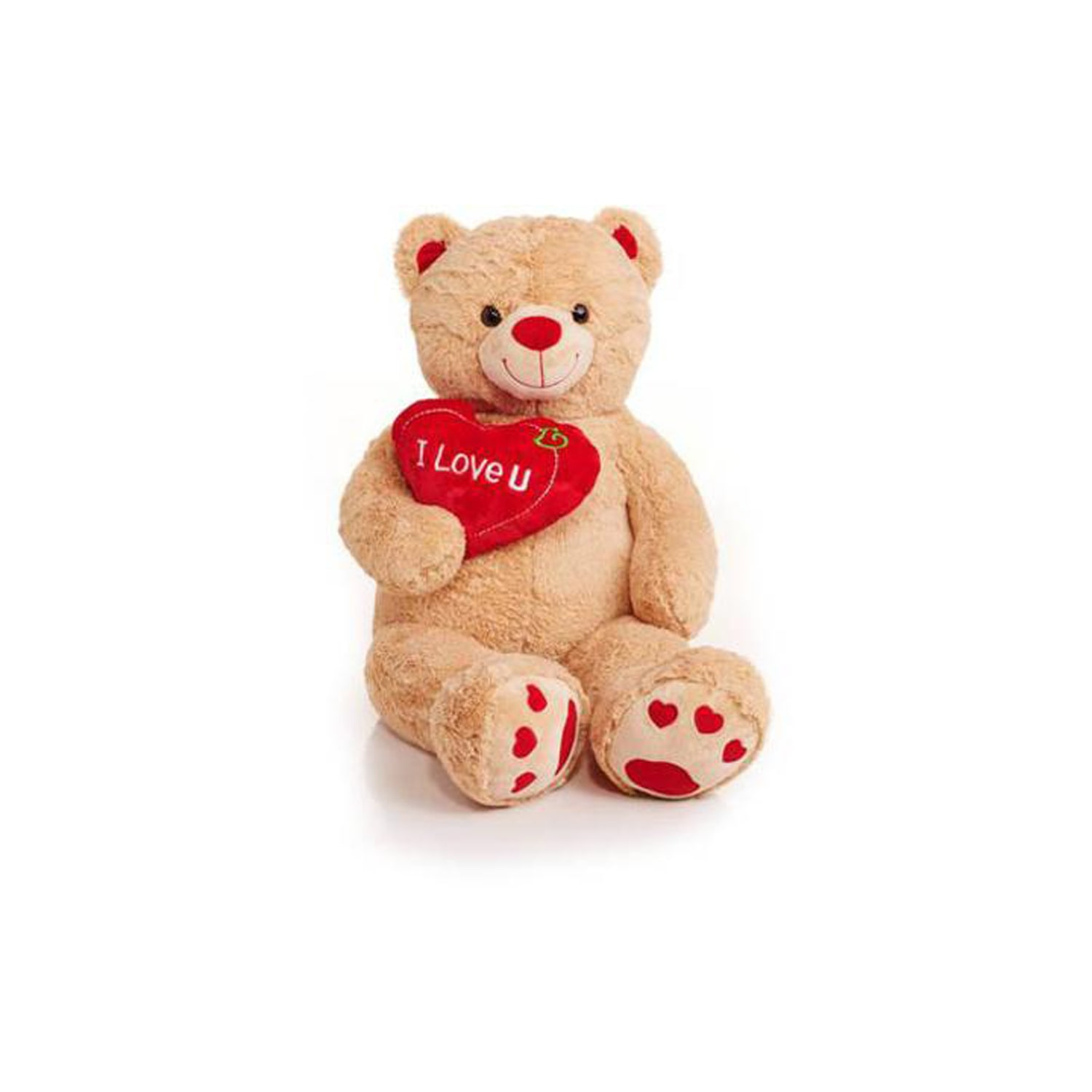 "Jumbo 48"" Teddy Bear with ""I Love You"" Heart by Overstock"