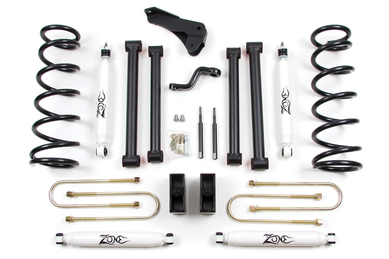 Zone Offroad Dodge Ram 2500 3500 5 Suspension System 3 7 8 Rear Upgrade Axle Diameter