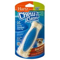 Hartz Chew 'n Clean Scented Bacon Flavor Nylon Bone Dog Toy