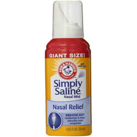 Simply Saline Nasal Mist 4.25 oz (Pack of
