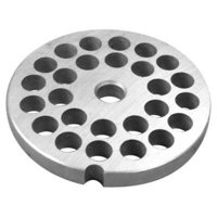 "# 5 Stainless Steel Grinder Plate - 10mm (3/8"")"