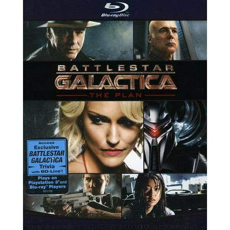 Battlestar Galactica  The Plan  Blu Ray