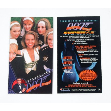 Cards Direct Promo Code (1998 Inkworks The Women of James Bond Promo Card (P1))