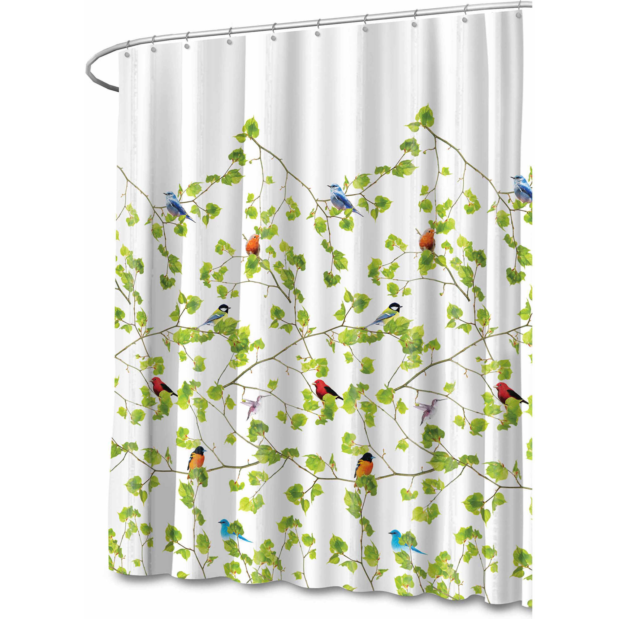 Splash Home Polyester Fabric Shower Curtain by Generic
