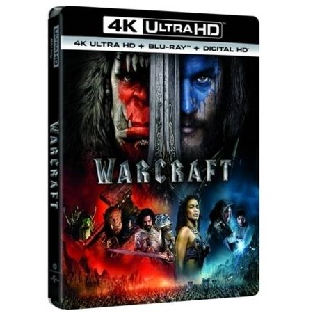 Warcraft  4Khd   Blu Ray   Digital Hd