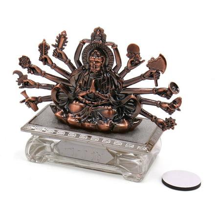 Buddha Shaped Car Perfume Base Freshener Fragrance Ornament Decor (Base Ornament)