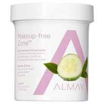 Facial Cleansing Wipes: Almay Makeup-Free Zone Eye Makeup Remover Pads