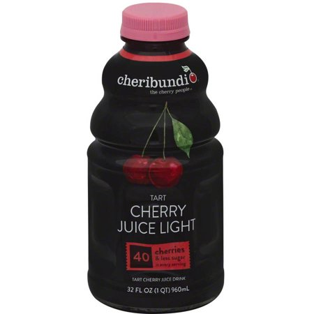 Cheribundi Light Juice, Tart Cherry, 32 Fl Oz (Pack of 6)