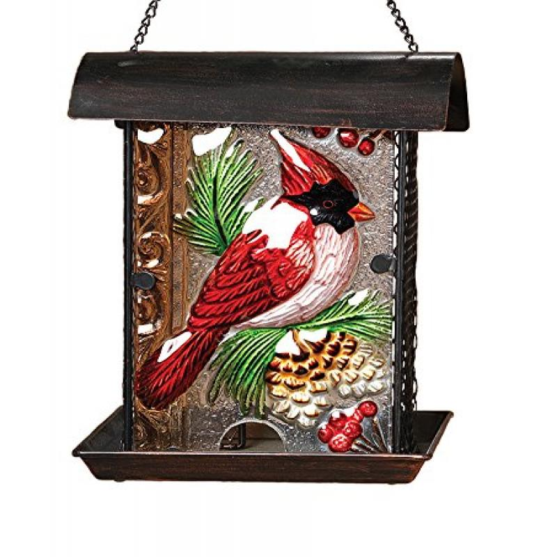 Gerson Birdfeeder Featuring a Cardinal on the Glass by