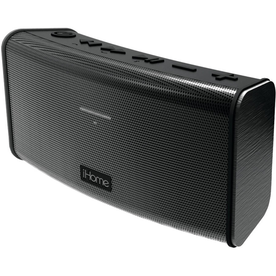iHome Rechargeable Stereo Bluetooth Speaker with Speakerphone