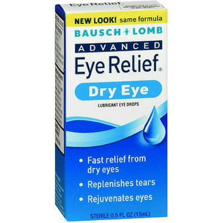 Bausch & Lomb Advanced Eye Relief Rejuvenation Lubricant Eye Drops 0.50 oz Eye Drops Advanced Relief
