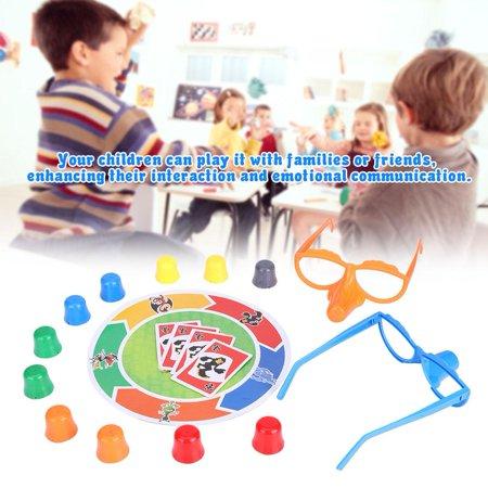 HURRISE Jeu de cartes amusant pour les enfants Jeu de famille interactif multijoueur interactif BattleToys pour enfants adultes, jeu de société familial, jeu de cartes - image 6 de 8