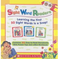 Sight Word Readers Parent Pack: Learning the First 50 Sight Words Is a Snap! (Other)