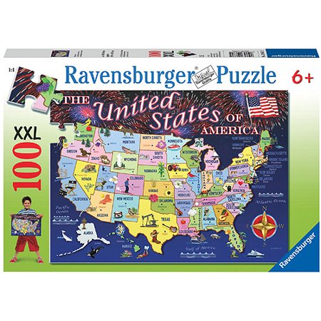 Ravensburger state map puzzle 100 pieces walmart ravensburger state map puzzle 100 pieces gumiabroncs Images