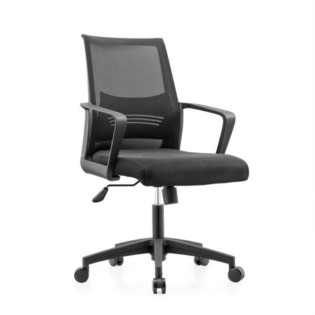 a5a2ef944 ImpecGear Ergonomic Office Chair Mid Back Swivel Lumbar Support Desk Chair