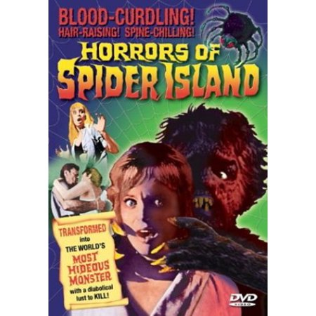 Horrors of Spider Island (DVD)