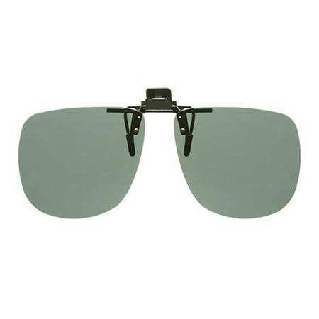 Solar Shield Unisex Rimless Polarized SolarShield ClipOn Sunglasses SC24 ()