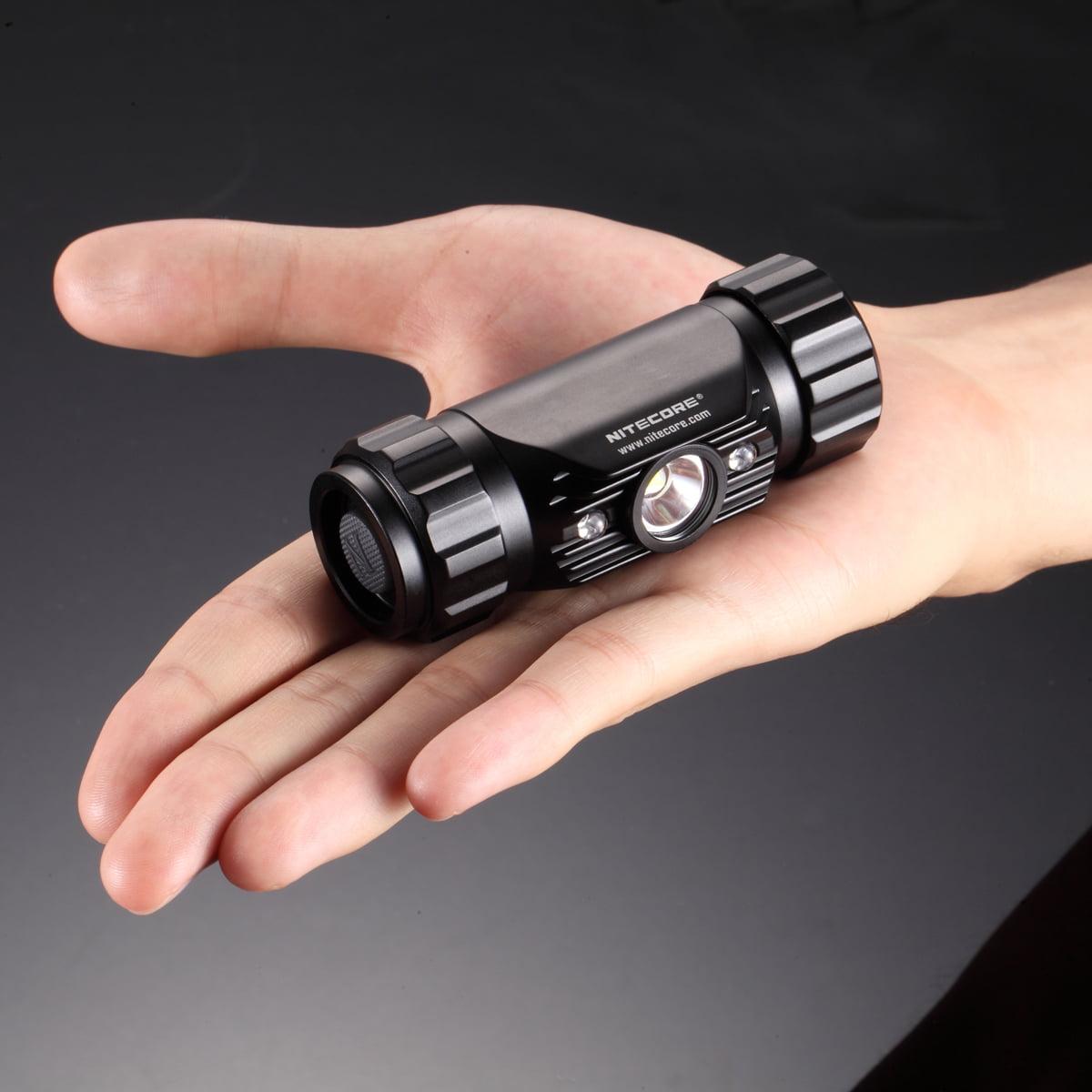 NiteCore HC50 CREE XM-L2 LED Headlamp, Black Multi-Colored