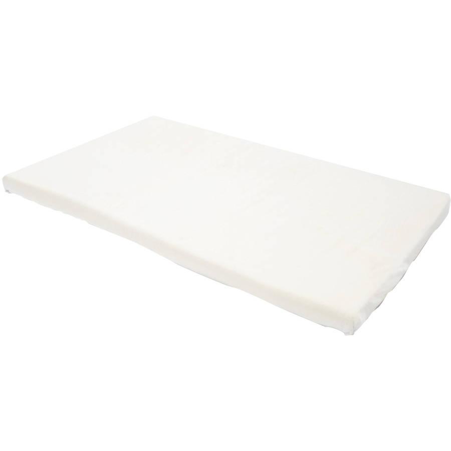 "Milliard 2"" Memory Foam Portable Crib Mattress Topper with"