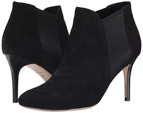 Cole Haan Women's Smithson Boot, Black Suede, 11 B US