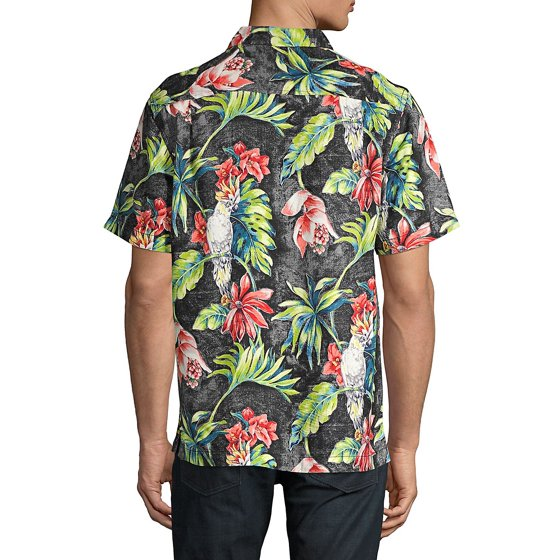 7aaaa6ea Tommy Bahama - Regular-Fit Tahitian Tweets Camp Silk Button-Down ...