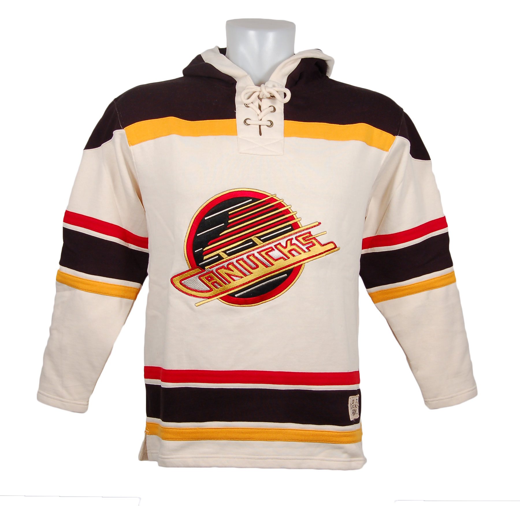 a27da9cb Vancouver Canucks Vintage Heavyweight Lacer Hoodie (Skate Logo) - image 1  of 1 zoomed image