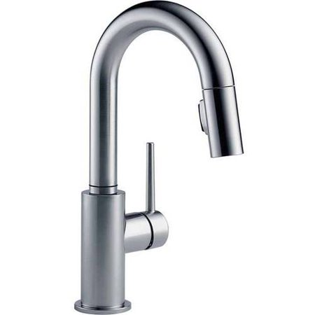 - Delta Trinsic Bar Faucet with Magnetic Spray Head Docking, Available in Various Colors