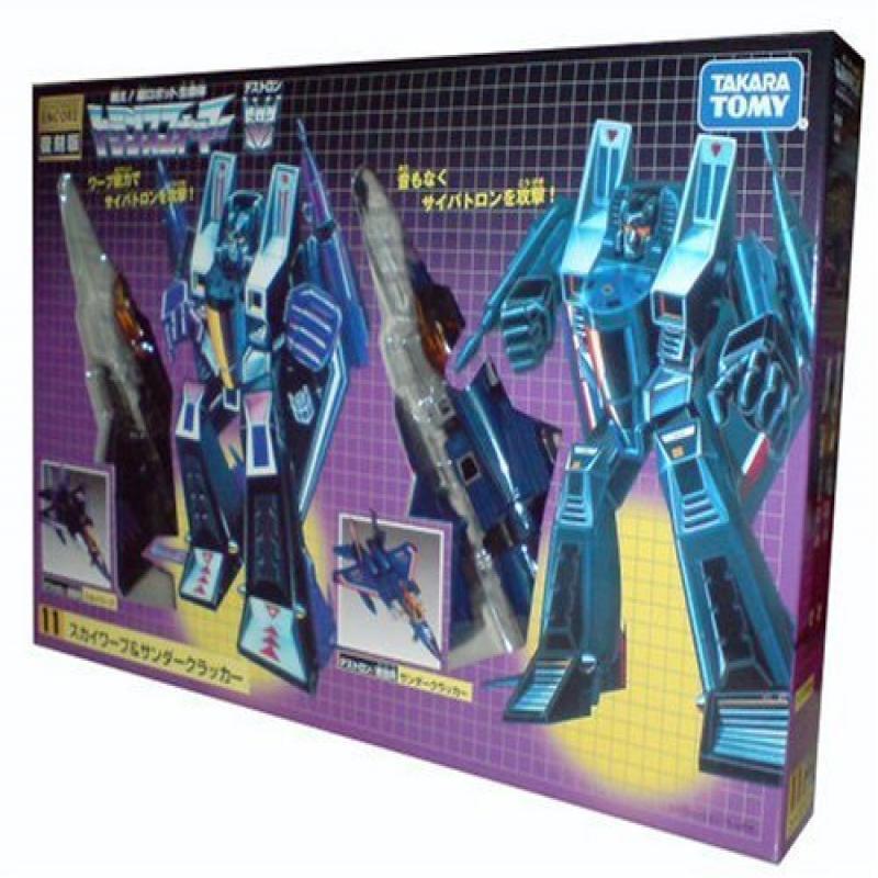 Transformers Encore Thundercracker & Skywarp Set Of 2