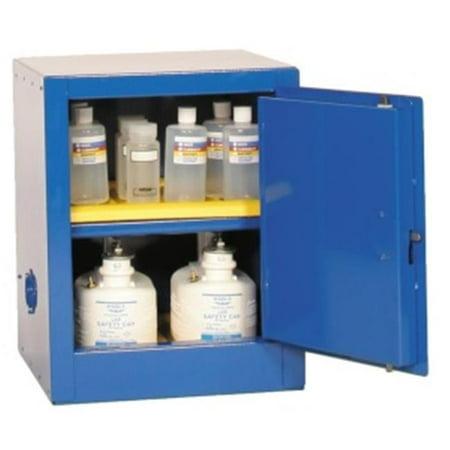 Eagle Safety Storage Cabinets - Eagle Cra-1924 Acid And Corrosive Safety Storage Cabinets - Blue One Door Self-Close One Shelf