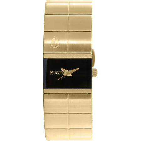 Nixon Women's Cougar A1901043 Gold Stainless-Steel Plated Japanese Quartz Fashion Watch - image 1 de 1