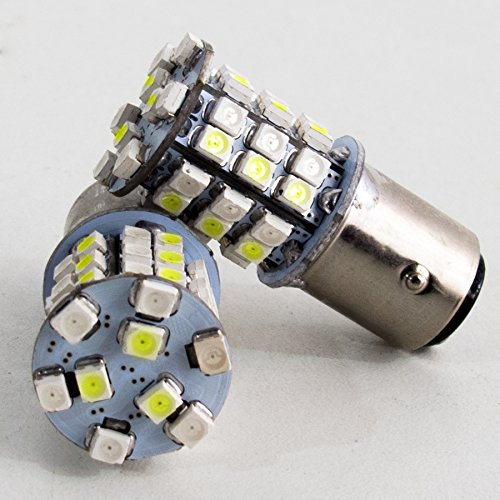 Race Sport 1157 White/yellow Led Dual Switchback Auto Bulb - 25 W - White, Yellow Light Color - 100000 Hour (rs-1157-wy-ts)