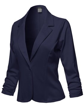 188339ce33a43f Product Image FashionOutfit Women s Casual Solid One Button Classic Blazer  Jacket - Made in USA