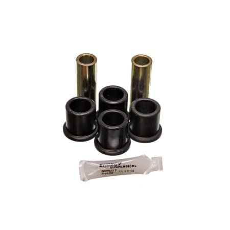 Energy Suspension 82-96 Ford F100/F150 2WD Black Rear Frame Shackle Bushing Set