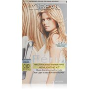 Hair highlighters loreal paris feria multi faceted shimmering highlighting kit extremely light blonde pmusecretfo Choice Image