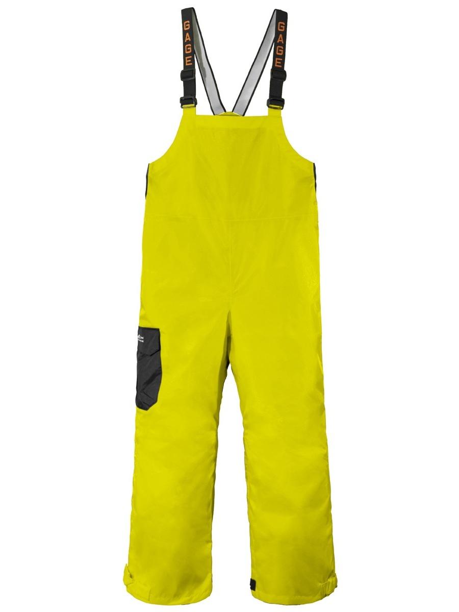 Grundens Weather Watch Bib Pants, Hi-Vis Yellow, 2X by Grunden