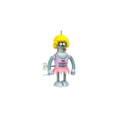 Wind Up Bender - Futurama Rocket USA Wind Up Tin Gender Bender