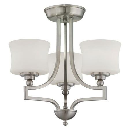 (Savoy House Terrell 6P-7213-3 Semi-Flush Mount Light)