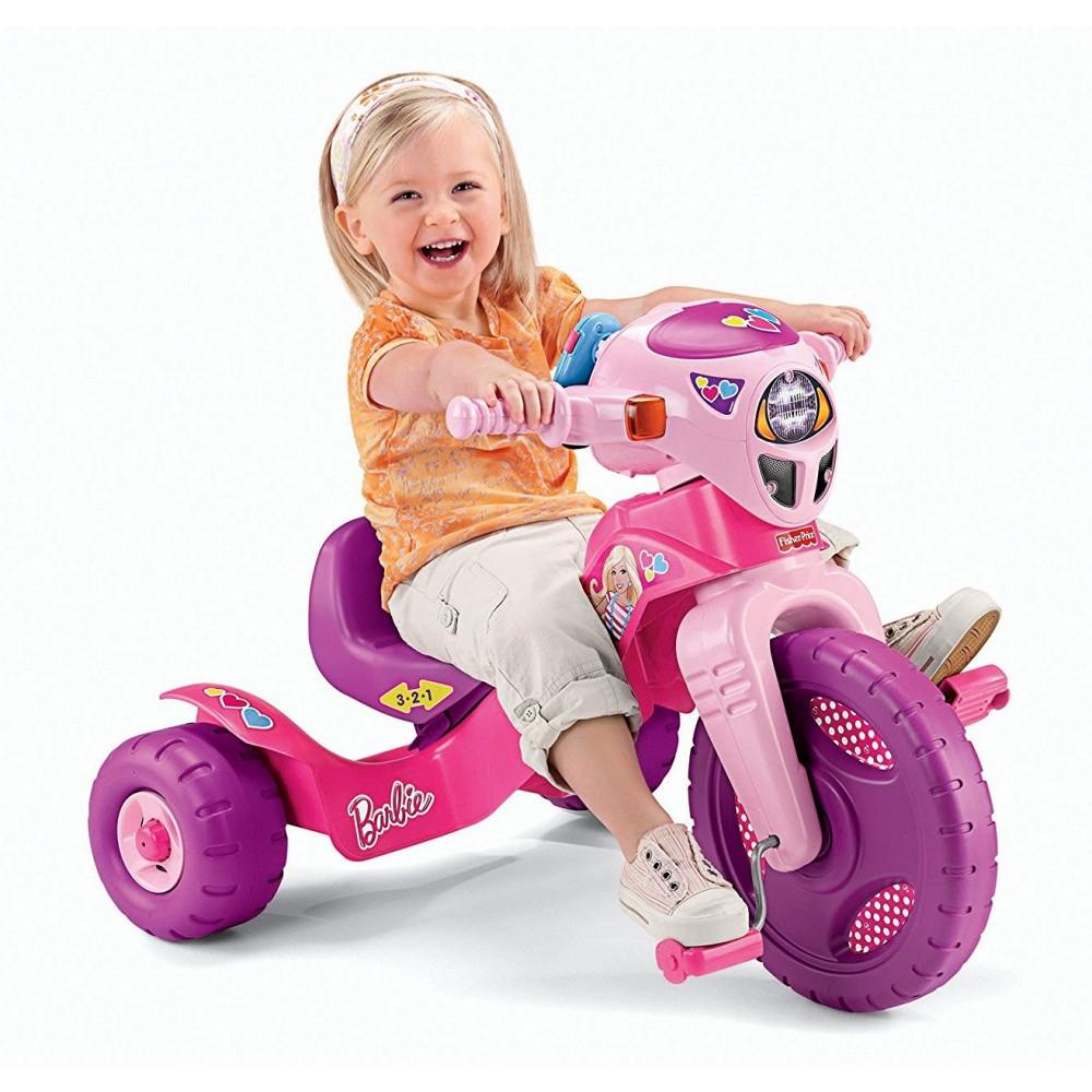 Fisher-Price Lights and Sounds Barbie Tricycle