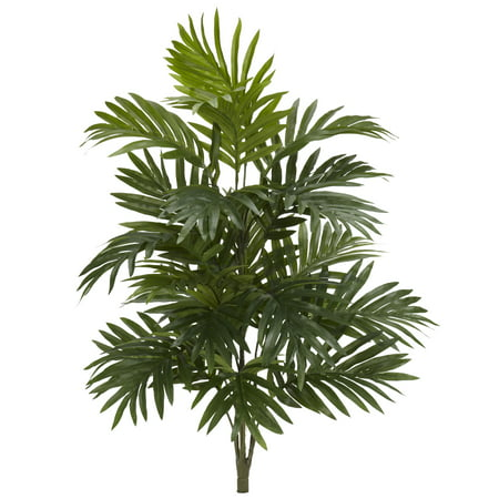 """Nearly Natural 30"""" Areca Palm Artificial Plant (Set of 3)"""
