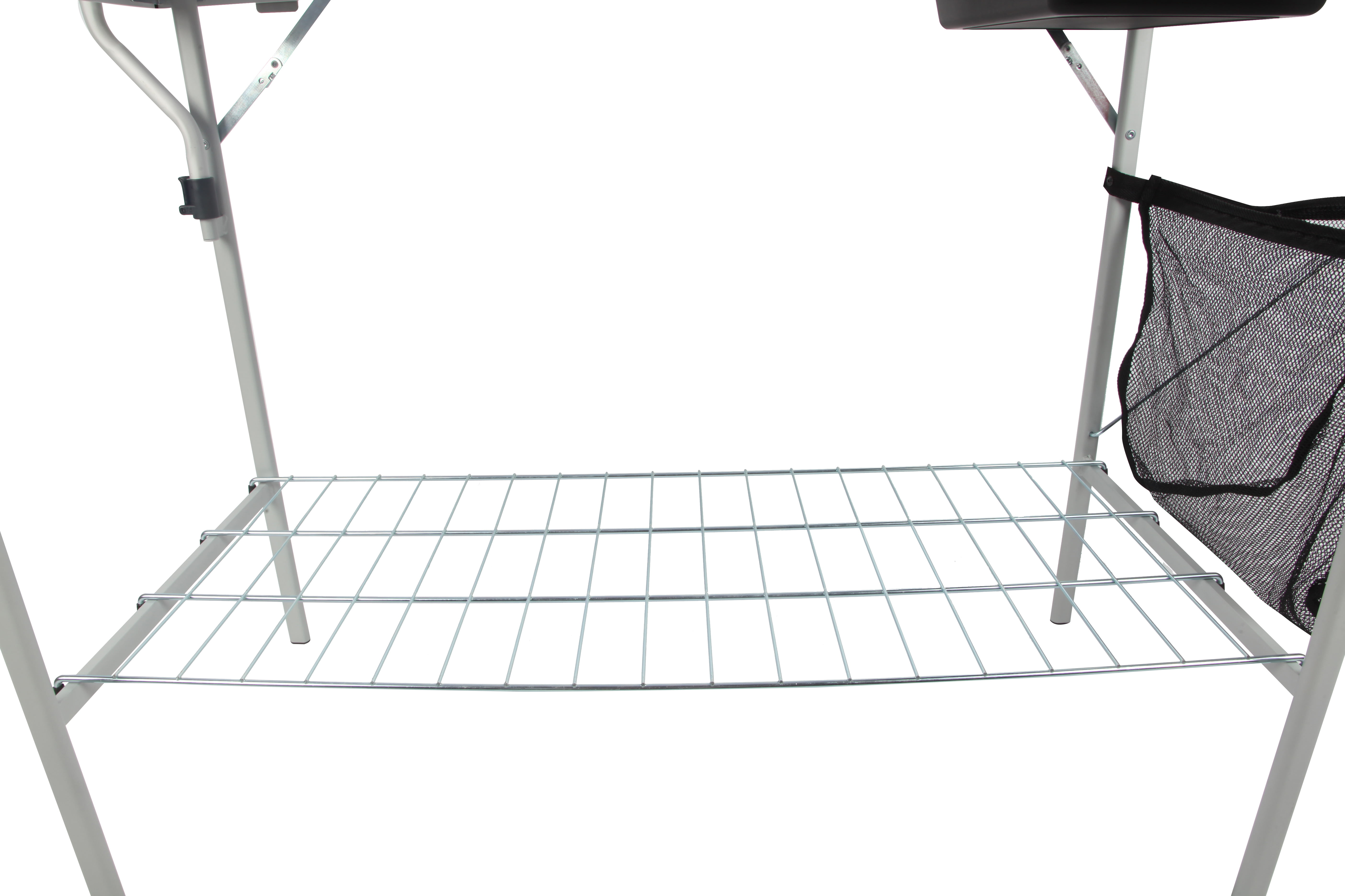 Ozark Trail Portable Camp Kitchen and Sink Table - Walmart.com