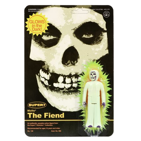 - Super7 Misfits The Fiend Glow In The Dark ReAction Figure