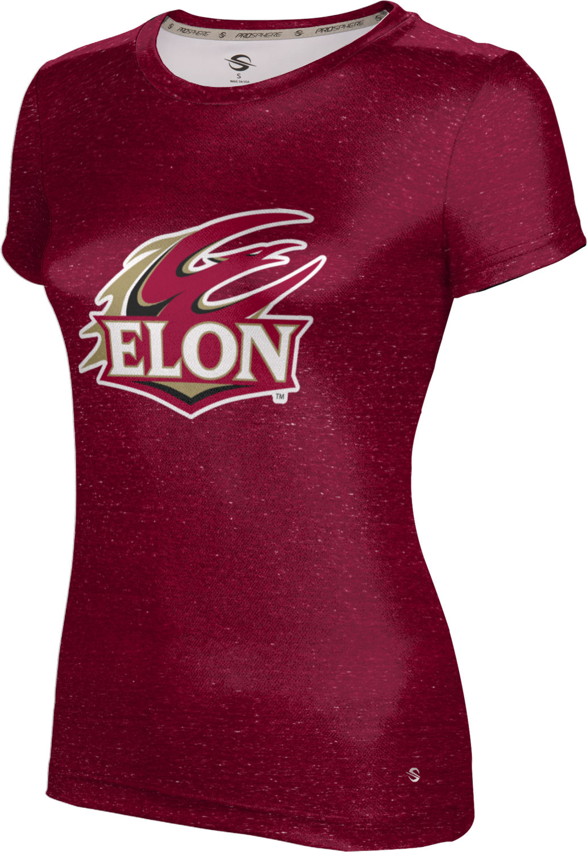 Heathered ProSphere Elon University Girls Performance T-Shirt
