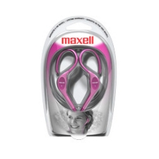 Maxell EH-130 Stereo Earphone - Wired Connectivity - Stereo - Over-the-ear - Pink