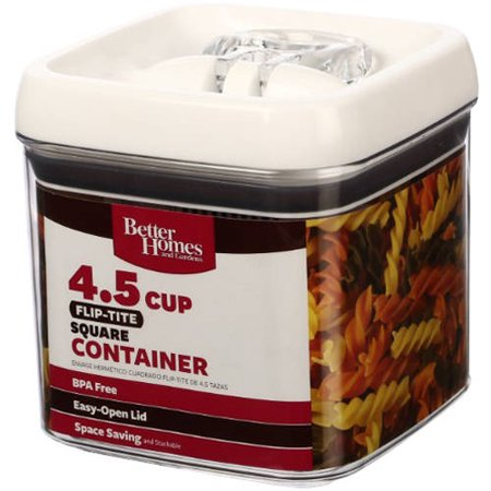 Sale Better Homes And Gardens Square Fliptite Storage Container Narnoijing85
