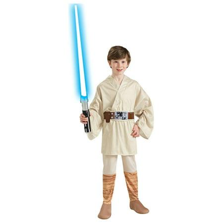 Luke Skywalker Halloween Costumes (Luke Skywalker Star Wars Boys)