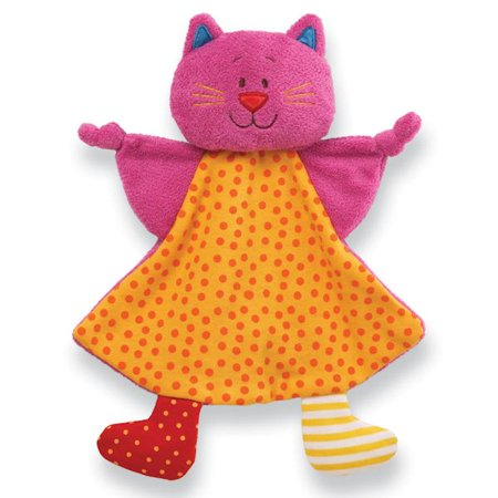 GUND Sock Hop 4036967 Miss Meow Crinkle Buddy Plush Cat 11