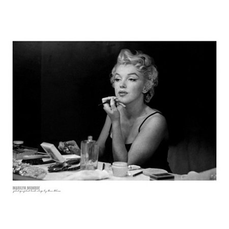 Marilyn Monroe Backstage Poster Print By Sam Shaw  32 X 24
